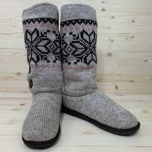 """Muk Luks a la mode """"Jenny"""" Sweater Boots"""